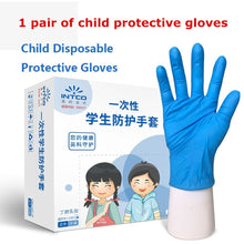Load image into Gallery viewer, Wear-Resistant Multifunctional for Boys Girls Thickened Anti-Static Anti-pollution Nitrile Gloves Latex Glove Disposable Gloves Labor Supplies