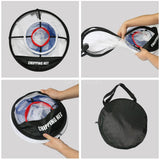 Golf Practice Net Golf Chipping Net Hitting Nets Portable Driving Range Golf Net Training Aids with Target And Carry Bag for Indoor Outdoor Sports Putting Trainer Kids Golf Practice Net Pefect for Golf Training