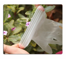Load image into Gallery viewer, 100/300/1000PCS High Quality 100PCS Disposable Pvc Rubber Powder-free Transparent Gloves Thickened