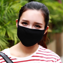 Load image into Gallery viewer, 3/6/9/12/18pcs Mouth Face Mask Anti Dust Pollution Cotton Mask Black Washable Reusable Dustproof Respirator Mask Unisex