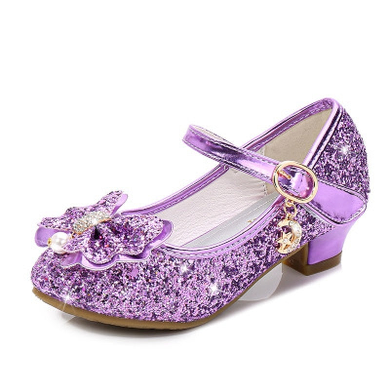 Fashion New Princess Shoes Kids Girls High Heels Dress Shoes Kids & Baby Girls Sandals
