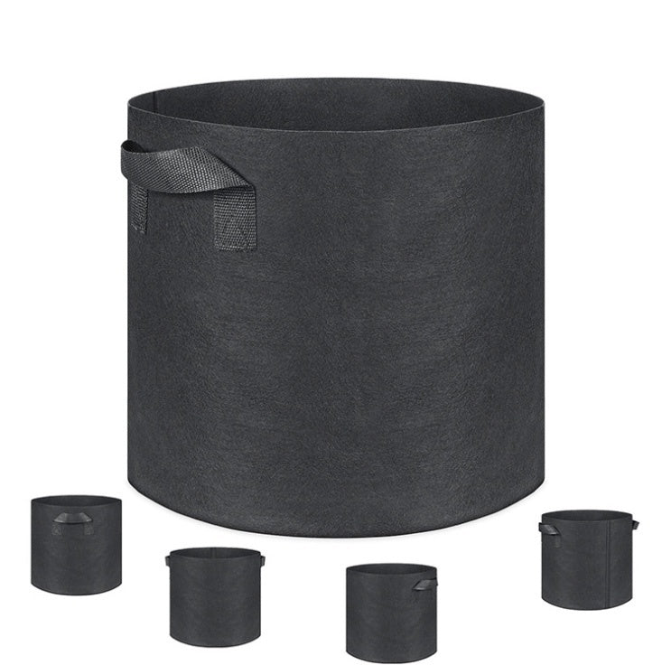 New Fabric Raised Garden Bed Round Planting Container Grow Bags Breathable Felt Fabric Planter Pot