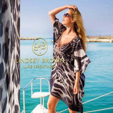 Shop Animal Printed Beach Coverups seen in Lancashire Life Magazine