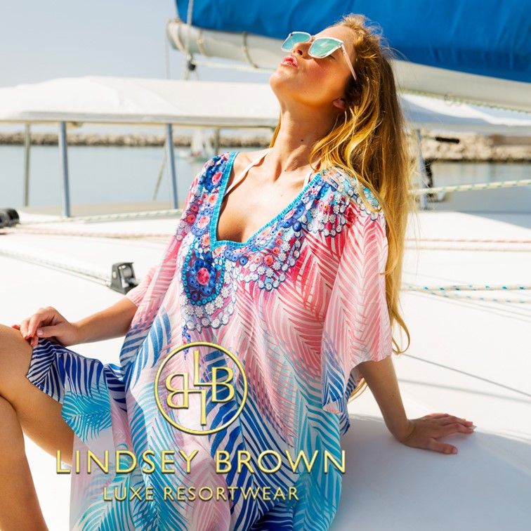 Cover ups to wear on a Cruise Holiday by Lindsey Brown Resortwear