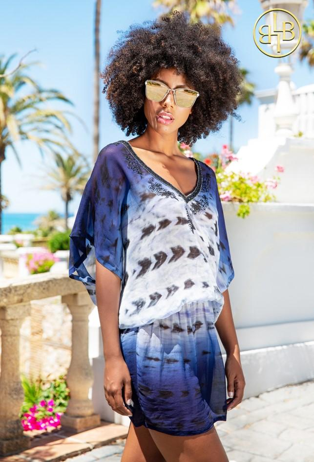 Shop New Silk Resortwear Dresses for a Caribbean Cruise Holiday