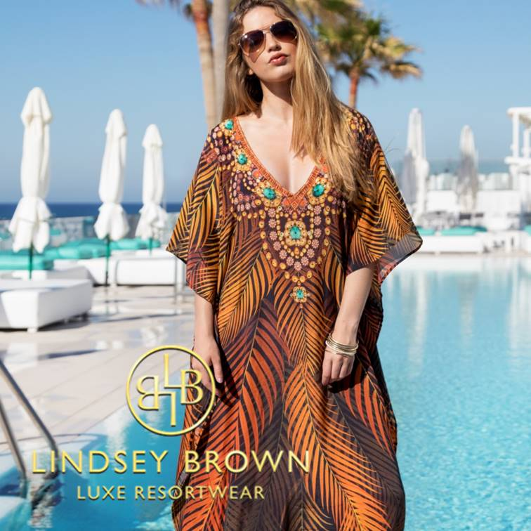 Plus Size Designer Kaftans 5XL to 7XL by Lindsey Brown