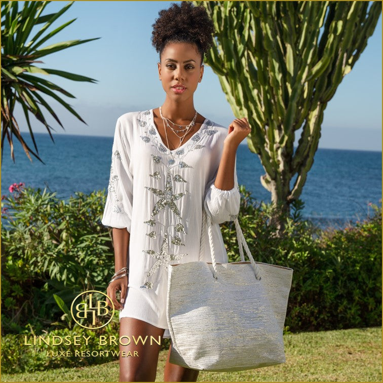 White Cotton Kaftan Tops to wear at home this summer