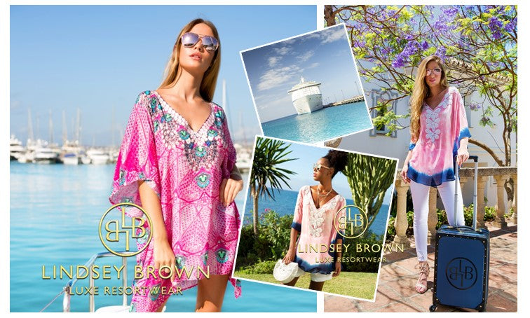 Cruisewear Cover ups to wear on  a Caribean Cruise Holiday