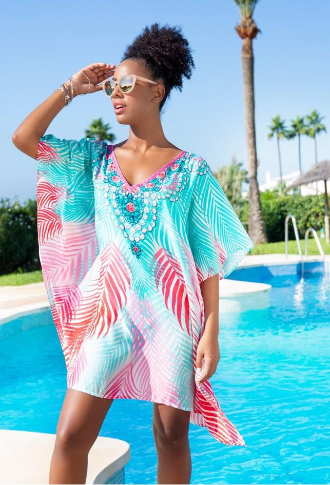 Laguna Cotton Beach Cover Up by Lindsey Brown Resort Wear