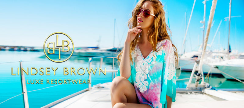 Beautiful Designer Kaftans, Silk Luxury Resort wear Cover Ups, Pretty Designer Beach Cover Ups and Designer Holiday Dresses by Lindsey Brown Resort wear. Shop All Sizes XS- 7XL, Plus Size Kaftans and Out Size Designer Cover Ups to Sizes 7XL