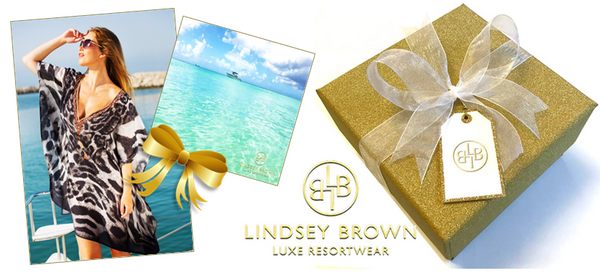 Free Gift wrapping Service by LindseyBrown Resortwear