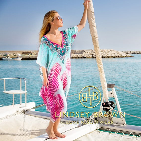 Shop Pretty Plus Size and Outside Maxi kaftans to wear all sumer