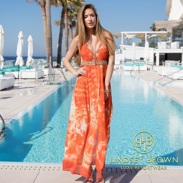 Stunning Martinique Maxi Holiday Dress by LindseyBrown