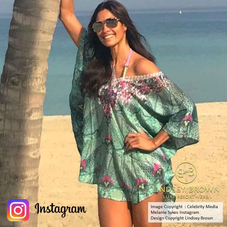 Shop Kaftans worn by Melanie Sykes .