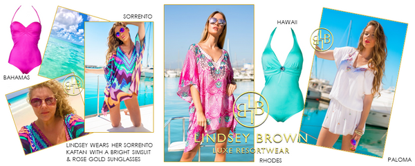Packing Tips for a Caribbean Holiday by Lindsey Brown Designer of luxury resort wear