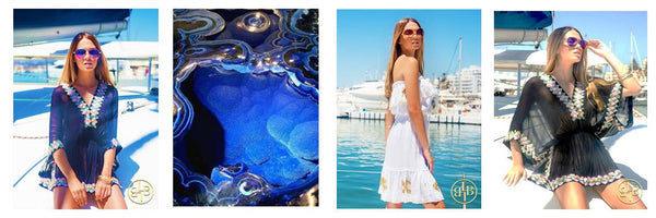 Shop Designer cover ups by Lindsey Brown for your Saint Tropez Holiday