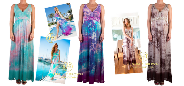 Glamorous Maxi Dresses to wear on your holiday to Santorini