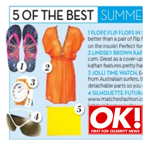 Orange Banus Dress | 5 of the Best Feature in OK Magazine