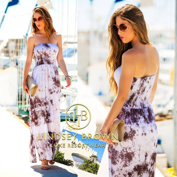 What to wear in Marbella? Shop the stunning designer Cannes dress by Lindsey Brown