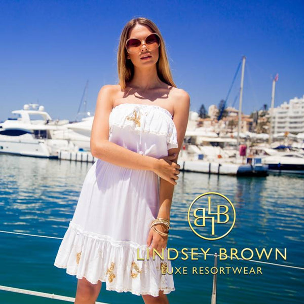 Stunning Strapless Holiday Dresses for your luxury holiday by LindseyBrown