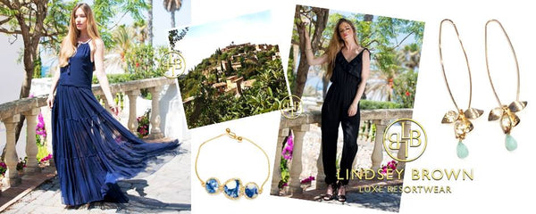 What to wear to a Wedding in Majorca . Wedding Guest Fashion by Lindsey Brown