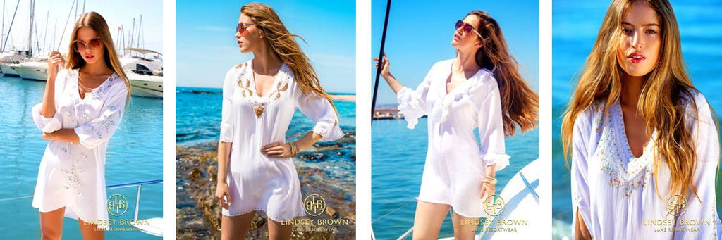 White Designer Cotton Kaftans and Cool Cotton Kaftans