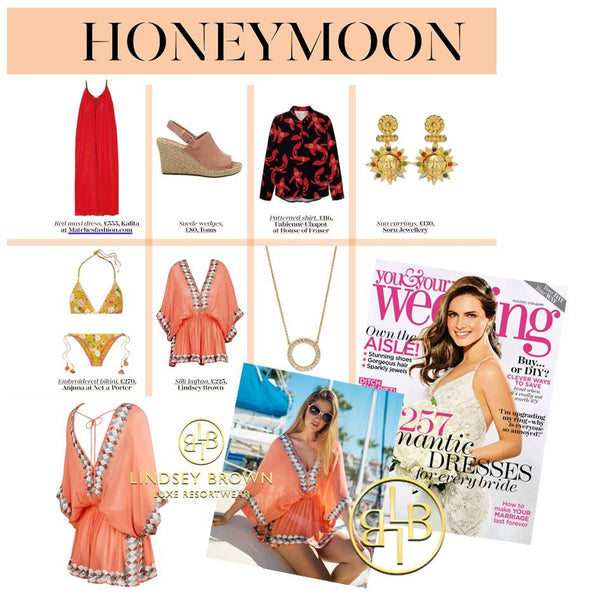what to pack for a beach honeymoon in Your & Your Weddings Magazine