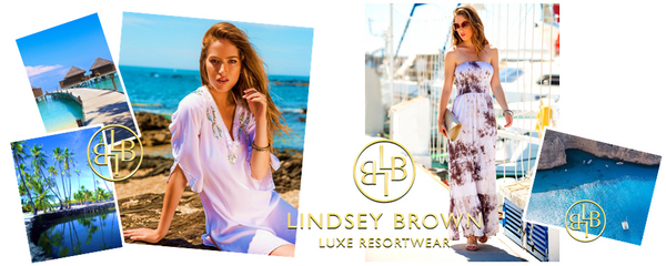 designer cover up resortwear brand lindseybrown luxe resortwear. free worldwdie shipping. Sizes XS-5XL