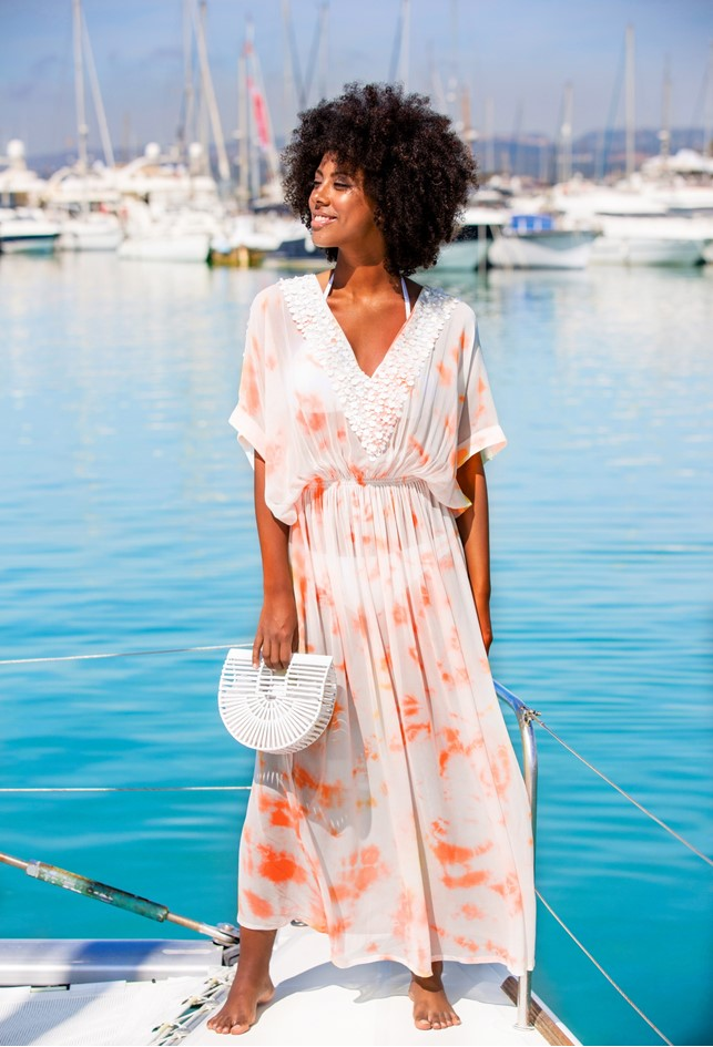 Stunning Silk Maxi Kaftan Dresses to wear in Dubai