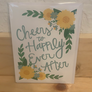Cheers to Happily Ever After Card