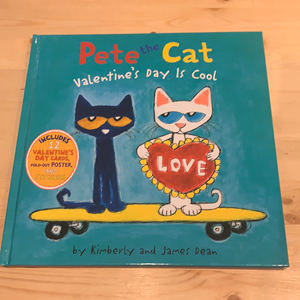 Pete the Cat, Valentine's Day is Cool