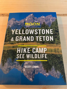Moon Yellowstone and Grant Teton