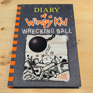 Diary of a Wimpy Kid, Wrecking Ball #14