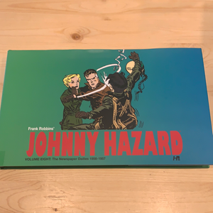Johnny Hazard the newspaper