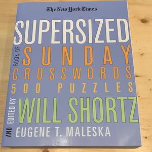 Supersized Book of Sunday Crosswords