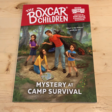 Load image into Gallery viewer, The Box Car Children, Mystery at Camp Survival #154