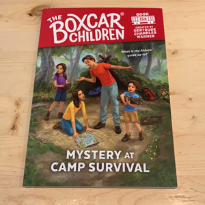 The Box Car Children, Mystery at Camp Survival #154