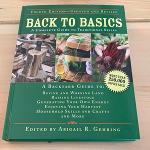 Back to Basics, A Complete Guide to Traditional Skills