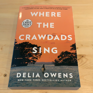 Where the Crawdads Sing Large Print