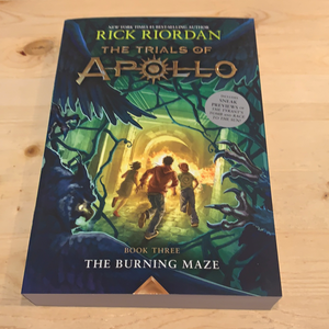 The Trials of Apollo, The Burning Maze Book 3