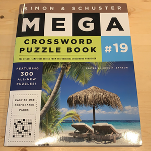 Mega crossword puzzle book #19