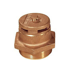 Brass Safety Drum Vent plated steel - 08101
