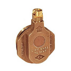Brass Safety Drum Vent - 08300
