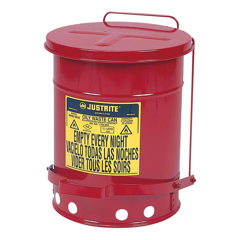 Steel Oil Waste Can 20ltr - 09100