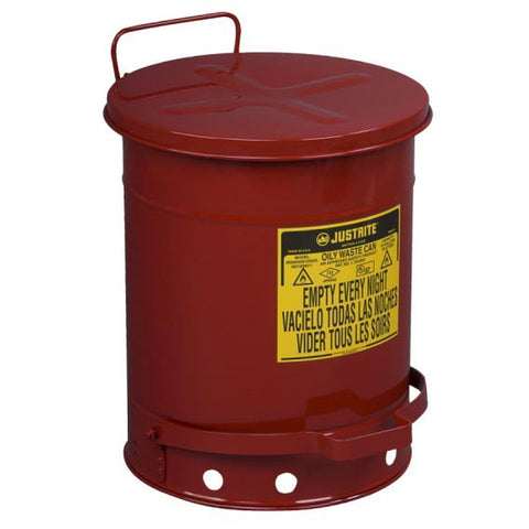 Steel Oil Waste Can 34ltr - 09300