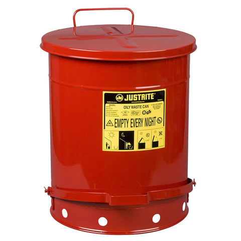 Steel Oil Waste Can 52ltr - 09500