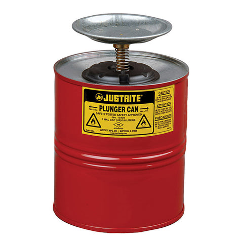 Steel Plunger Can 4ltr -10308Z