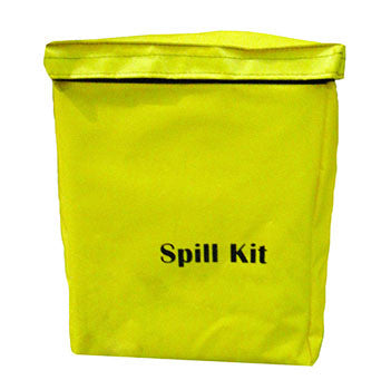 Chemical Spill Kit Yellow Vinyl Holdall 10ltr - 10CHK
