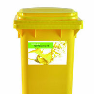 Maintenance Spill Kit 'Sustainable' Yellow 2 Wheel PE Bin 120ltr - 120MS2WK