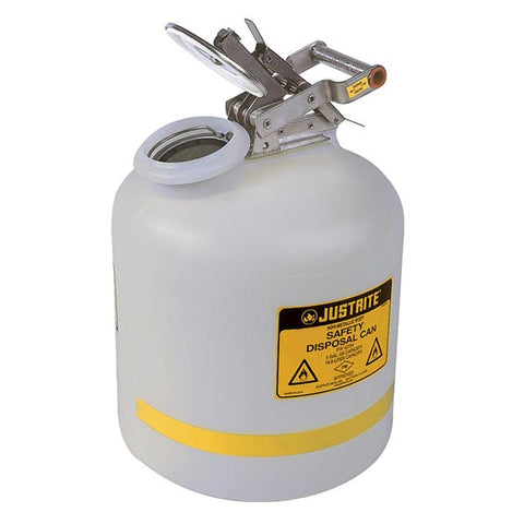 Polyethylene Liquid Disposal for Flammable Solvents 19ltr - 12754